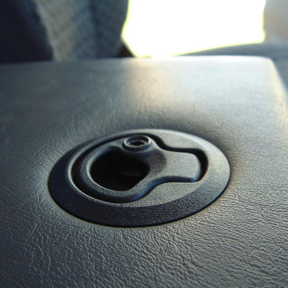 croytec plastic cubby box latch